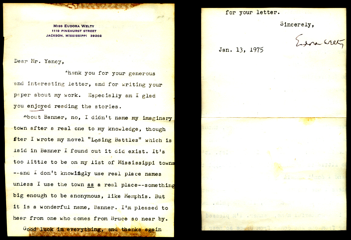 Eudora Welty letter horizontal blog